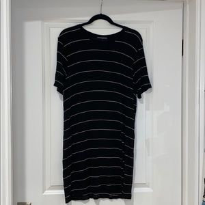 Brandy Melville Black Short Sleeve Tshirt Dress